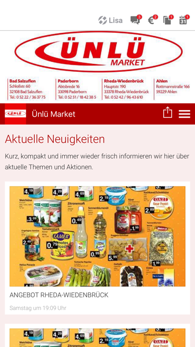 Ünlü Market screenshot 1