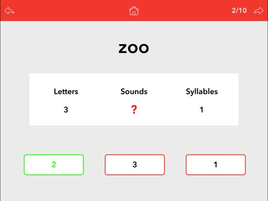 Screenshot #5 for Word Sounds / Phonemes