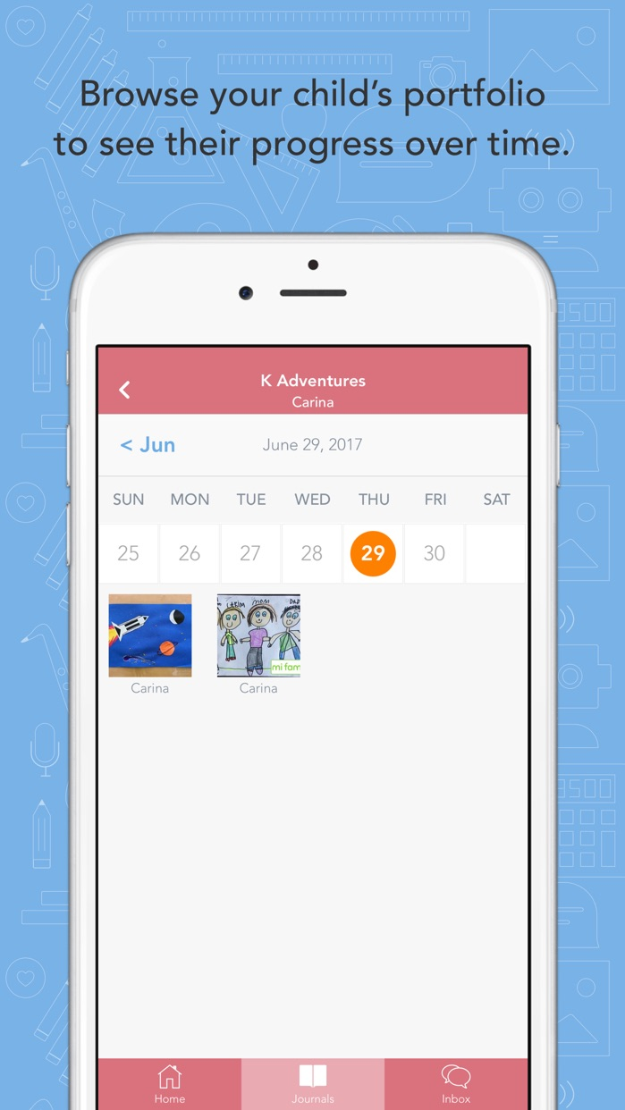 Seesaw Parent and Family Screenshot
