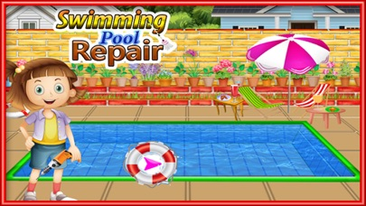 Emma Home Swimming Pool: Repair and Cleanup Game - App - Mobile Apps ...
