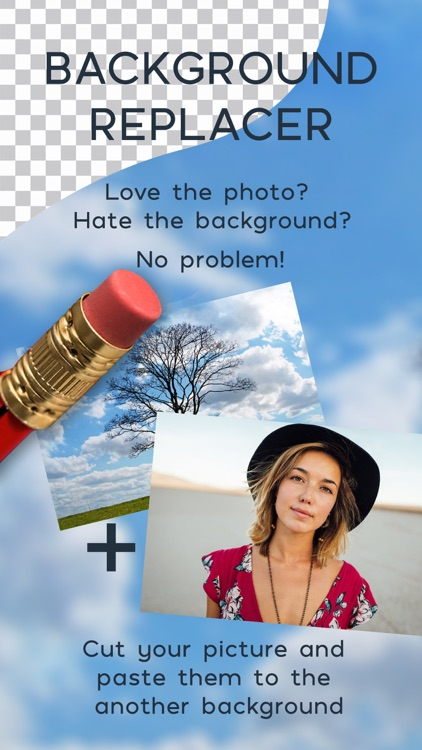 Photo Background Replacer - Remove And Paste Pics