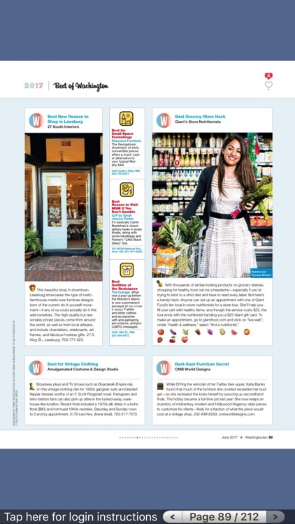 Washingtonian Magazine screenshot-3