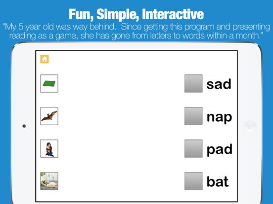 Kids Learning to Read - Little Reader 3 Letter Words screenshot