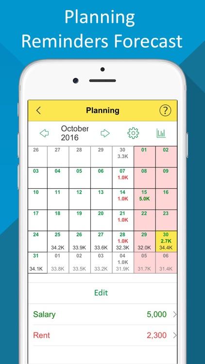 Budget- Expense Tracker,Bill Reminder,Debt Manager screenshot-4