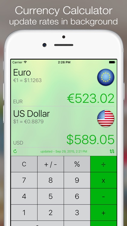Currency+ (Converter, Charts, Trends, Alerts) screenshot-0