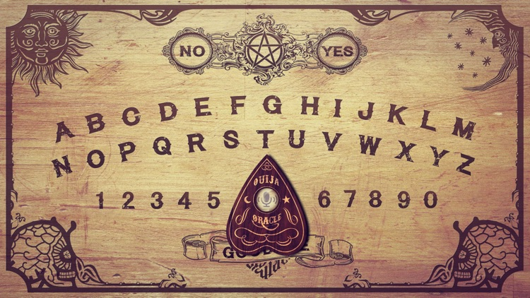 Ouija Board - talk to spirits (scary!)