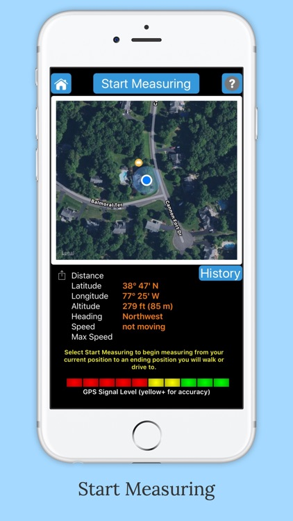 iMeasurer - Accurately measure distance using GPS screenshot-0