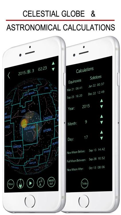 3D Astronomy : Celestial Globe, Planetarium, Map