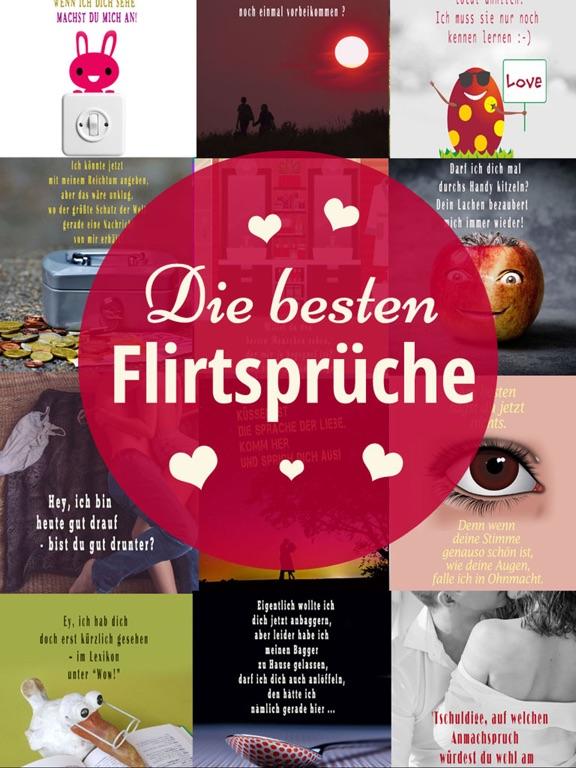 Flirtsprüche - Coole Sprüche: Flirten Spruchbilder screenshot 6