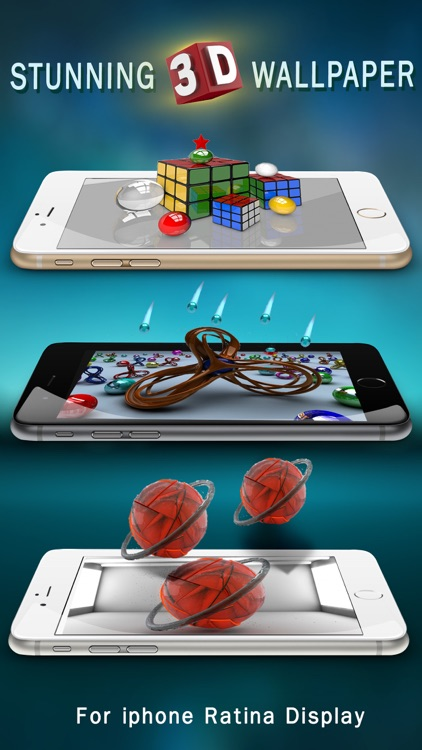 3D Retina Wallpapers Pro screenshot-3