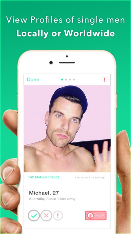 Teaze - Gay, Same Sex, Bi Photo Sharing Network