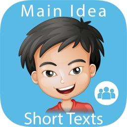 Main Idea - Short Texts: Reading Comprehension SE