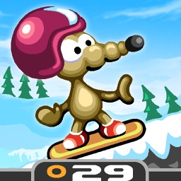 Rat On A Snowboard