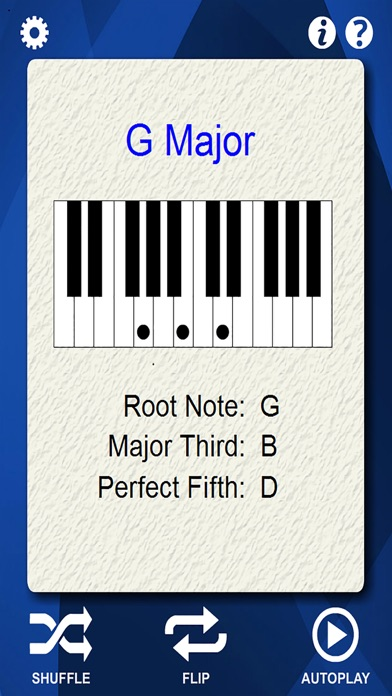 Piano Chords Flash Cards App Price Drops
