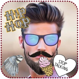 Hipster Photo Stickers & Editor