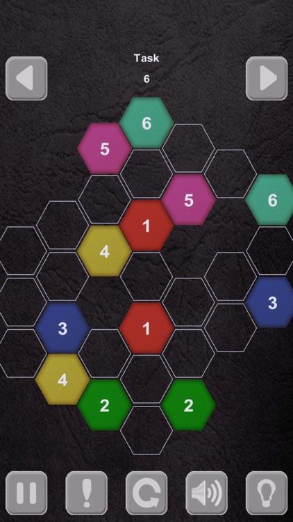 Color Lines. Hexagon screenshot-3