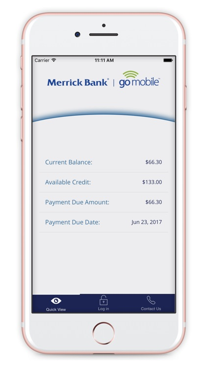 Merrick Bank Mobile screenshot-1