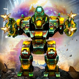 Futuristic War Robots Attack: The Last Battle