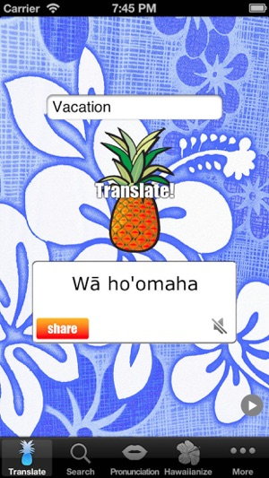 Hawaiian Words Translation And Dictionary 4