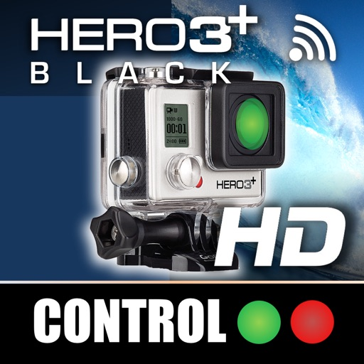 Remote Control for GoPro Hero 3+ Black