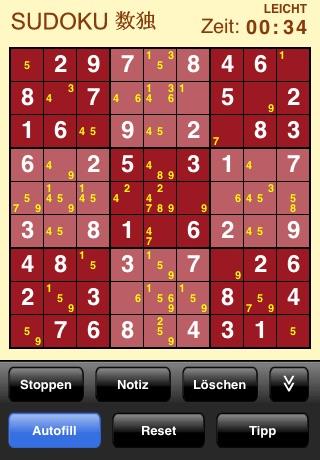 Sudoku (Free) screenshot 2