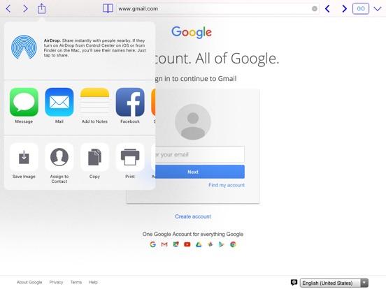 Dual Web Browser Screenshots