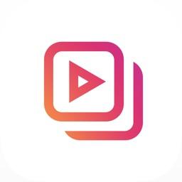 1min+ Split long videos to Carousel for Instagram