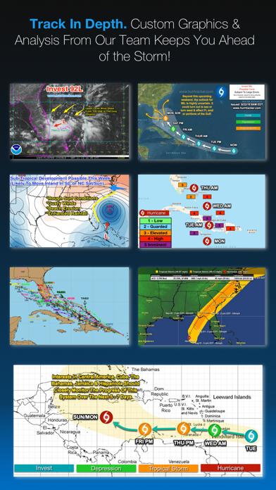 Hurricane Tracker app image