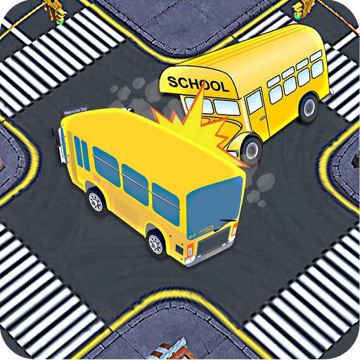 Bus Traffic Rush