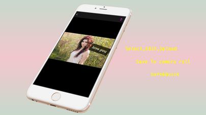 Screenshot #1 pour Snap Upload Caption : Safe upload & Quick save