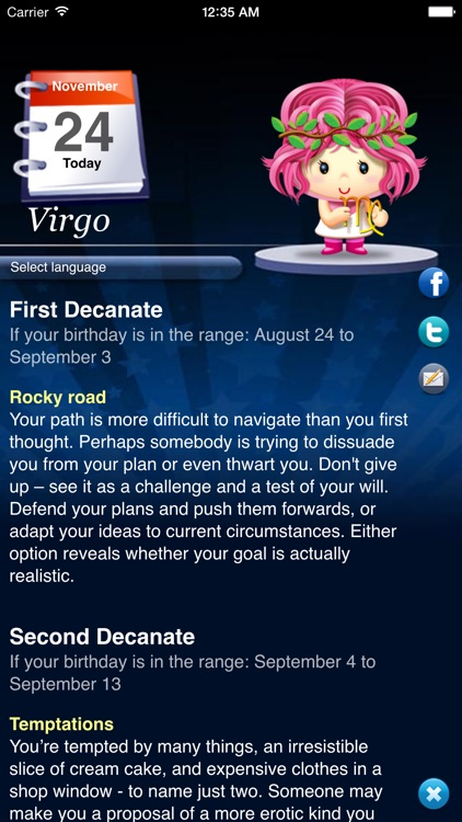 Horoscope HD+ screenshot-1