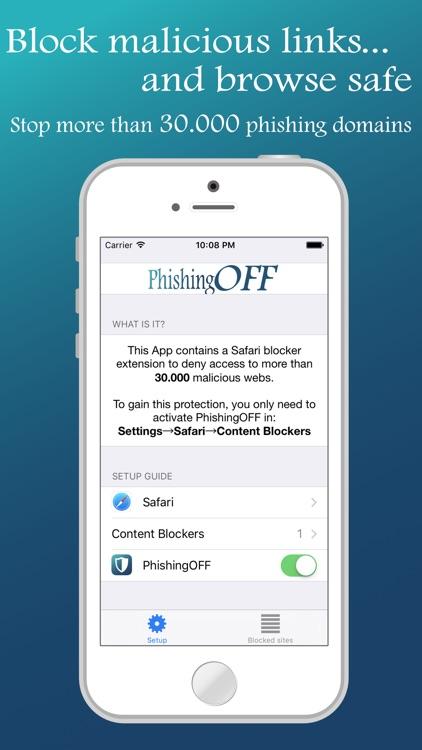 PhishingOFF for Safari