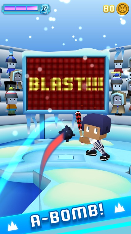 Blocky Baseball - Endless Arcade Batting screenshot-1