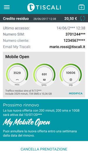 Mytiscali Su App Store