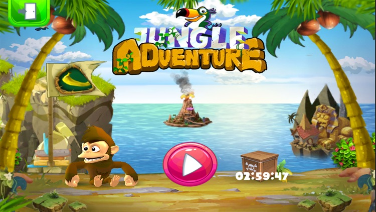 Jungle adventure - Monkey Island