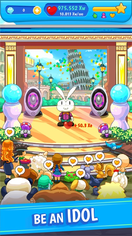 Bunbu Dance Tour: Idol Clicker screenshot-0