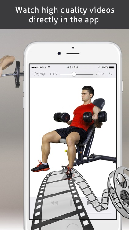 PRO Fitness - Exercises and Workouts! screenshot-4