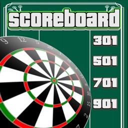 Darts Score keeper - ScoreBoard 501 301 701 901