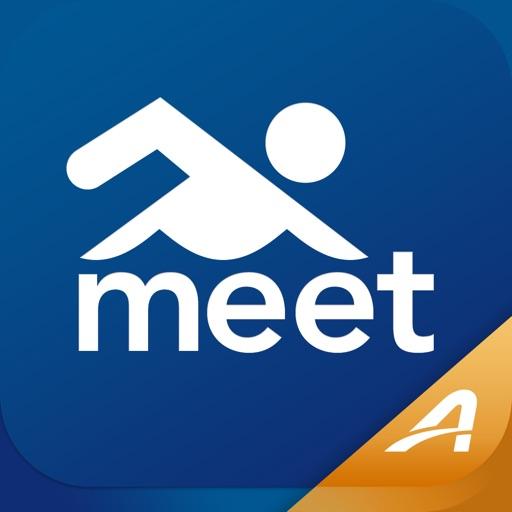 Meet Mobile: Swim app logo