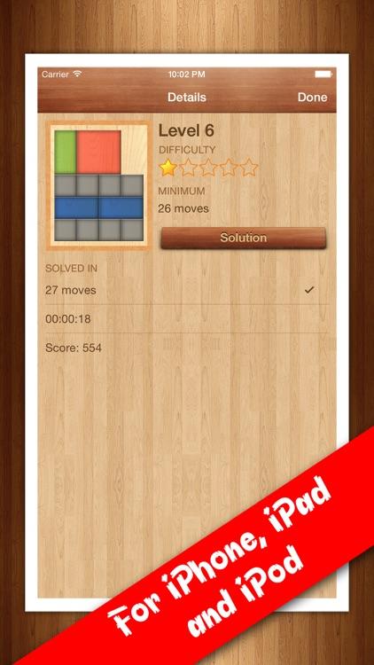 Red Block - Slide block puzzle screenshot-4
