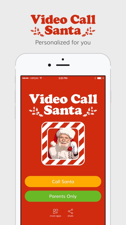 Video Call Santa - Christmas Wish screenshot-0