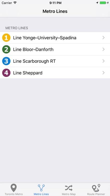 Toronto Metro & Subway screenshot-3