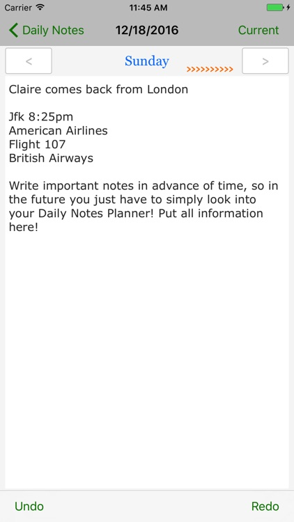 Daily Notes Planner