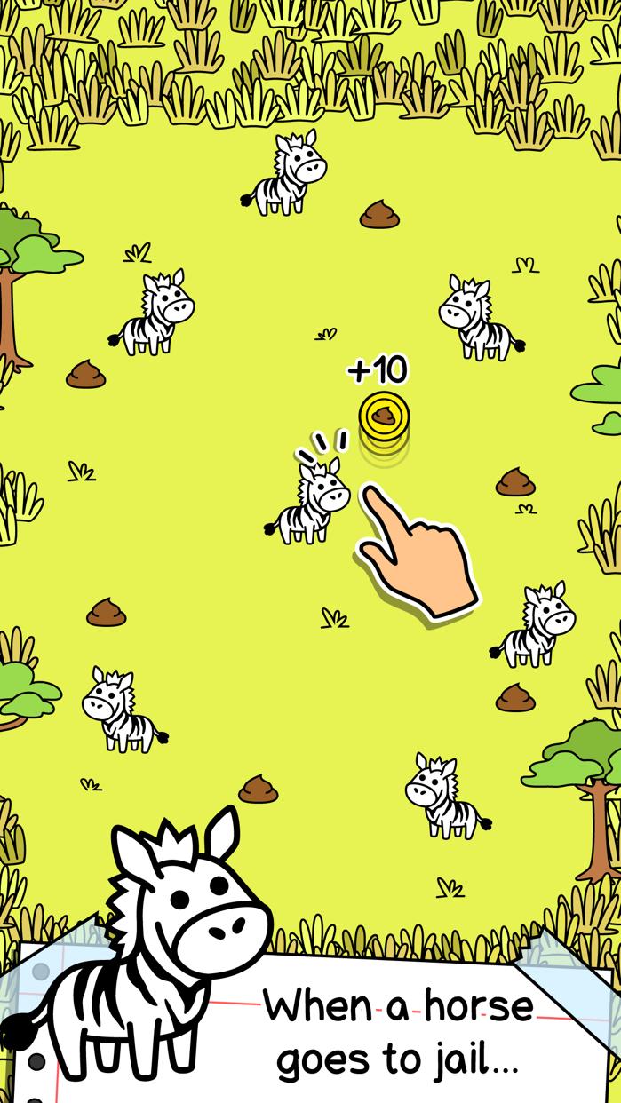 Zebra Evolution   Mutant Zebra Clicker Game Screenshot