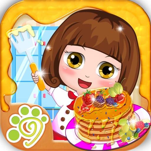 Bella cake making kitchen - girls cake maker game iOS App