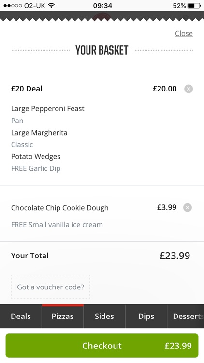 Pizza Hut UK - order pizza delivery and takeaway screenshot-4