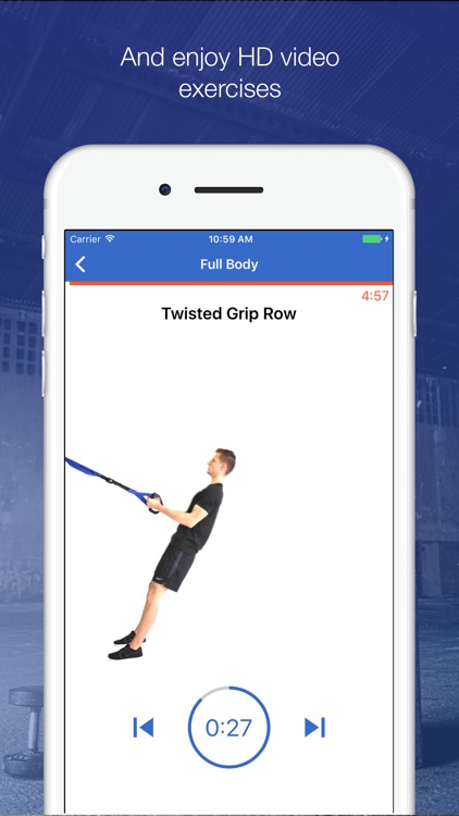 Suspension System Workouts by Fitify screenshot-3