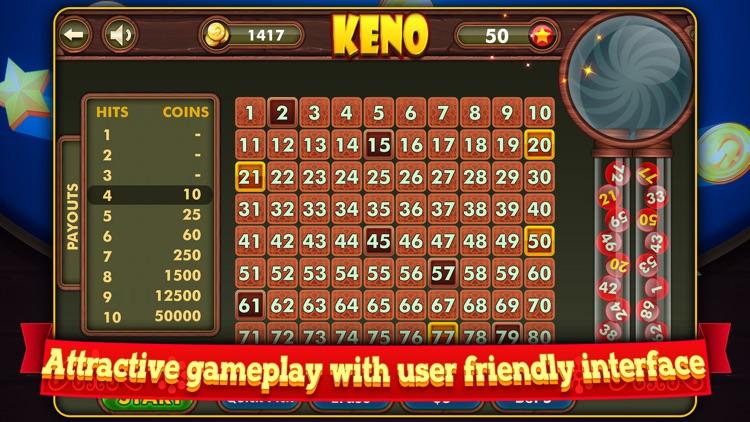 Keno+ screenshot-4