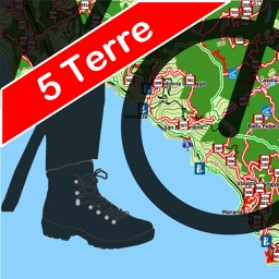 Trails of Cinque Terre - GPS & Maps for Hiking