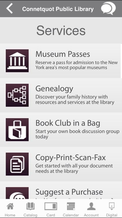 Connetquot Library Mobile